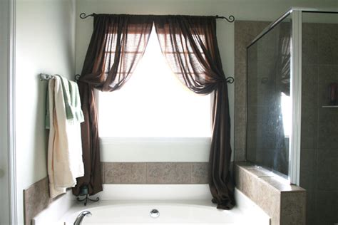 10 modern bathroom window curtains ideas 187 inoutinterior