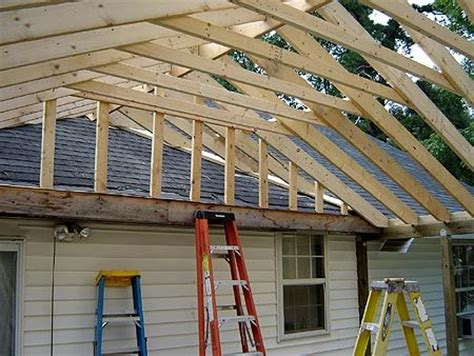 how to build a gable porch roof roof porch roofs