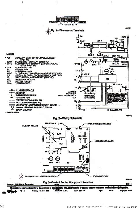 diagram carrier furnace wiring diagram