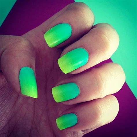 green nail designs hative