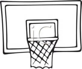 basketball hoop backboard clipart basketball hoop clipart black and white clipart panda