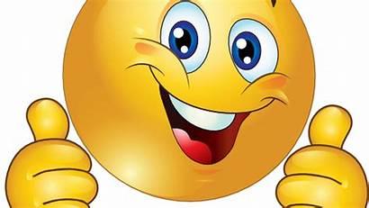 Opp Tommel Smiley Clipart Innherred Face