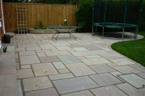 Lawn Patio by Allscapes Patios And Pathways
