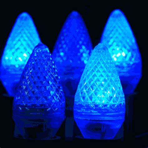 twinkle c7 led blue replacement christmas lights novelty