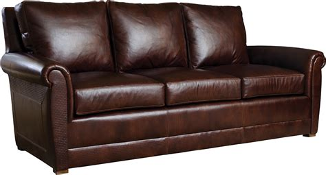 Portland Sofa, Stickley Fine Leather Collection