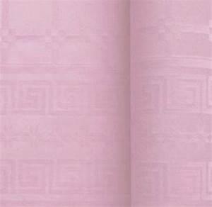 Nappe Rose Poudré : nappe papier damass rose poudr x 25m ~ Teatrodelosmanantiales.com Idées de Décoration