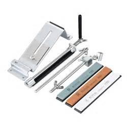 sharpening kitchen knives knife sharpener professional kitchen home sharpening system fix angle 4 ebay