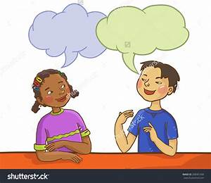 Kids Talking To Teacher Clipart - ClipartXtras