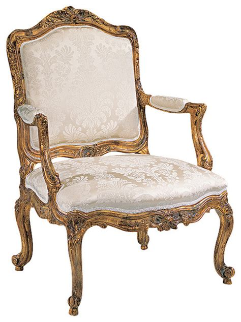 louis xv armchair dining chairs by