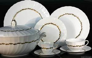 Service Vaisselle Porcelaine : service de table 12 personnes pas cher ~ Teatrodelosmanantiales.com Idées de Décoration