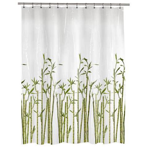 Bamboo Beaded Curtains Walmart by Photoreal Bamboo Peva Shower Curtain Walmart Ca
