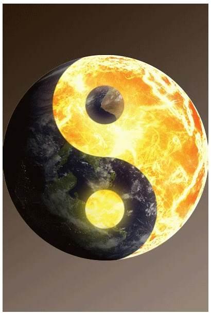 Yang Ying Animated Yin Gifs Spinning Earth