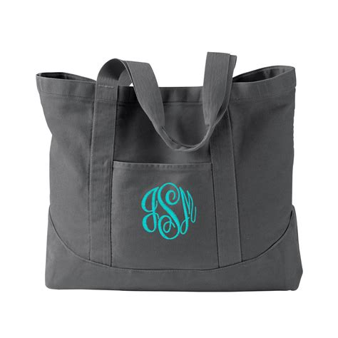monogram tote bag monogrammed tote bag canvas tote bag tote