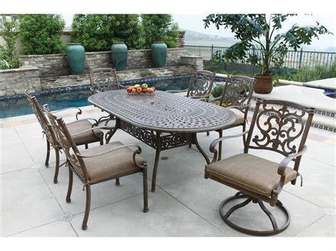 darlee outdoor living santa barbara casual cushion cast