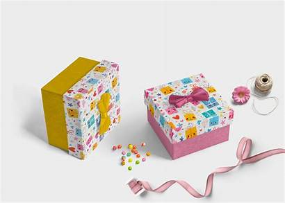 Gift Label Nice Mockup Package Eymockup