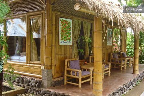bamboo cottages rural bali village  sawan