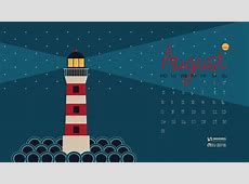 August 2015 Calendar Wallpapers for Desktop