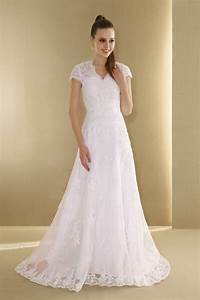 lace short sleeves wedding dress with applique sang maestro With wedding dress with short sleeves