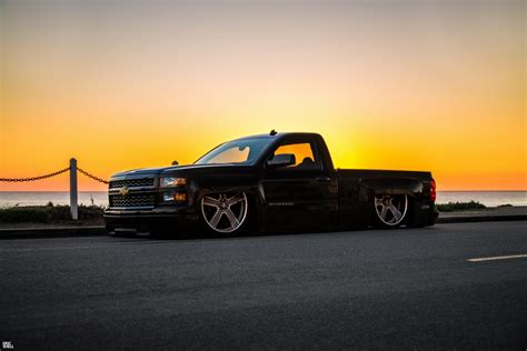 Dropped Chevy Truck Wallpaper by Slammed Chevy Silverado Stancenation Form Gt Function