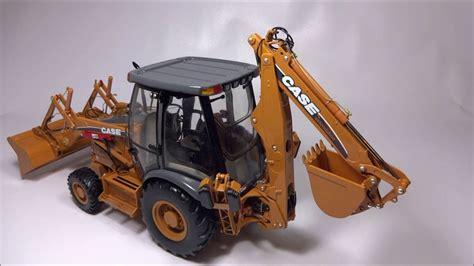 case  super  tractor loader backhoe ertl precision  youtube