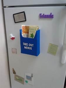 magnetic menu holder coupon holder for the fridge With magnetic letter holder for fridge
