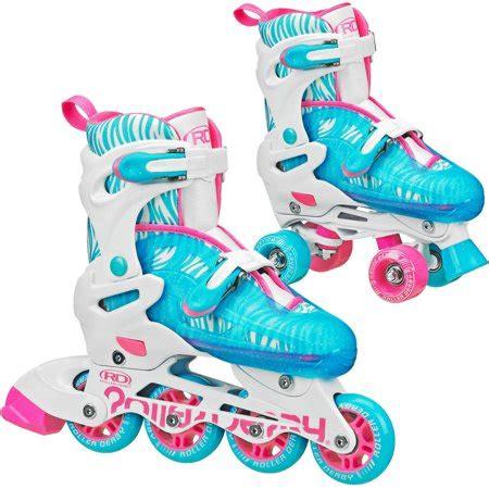 roller derby   inlinequad roller skates combo girl