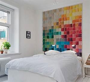 Au Fil Des Couleurs Papier Peint : papier peint nuancier au fil des couleurs http www ~ Melissatoandfro.com Idées de Décoration
