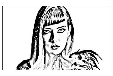 Coloriage Chica Vampiro Sketch Coloring Page