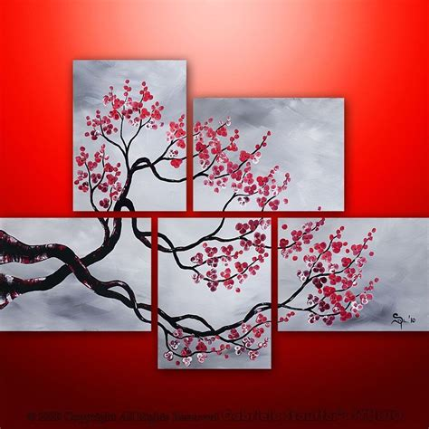 Black And White Abstract Uk by Abstract Painting Large Painting Asian Painting Tree
