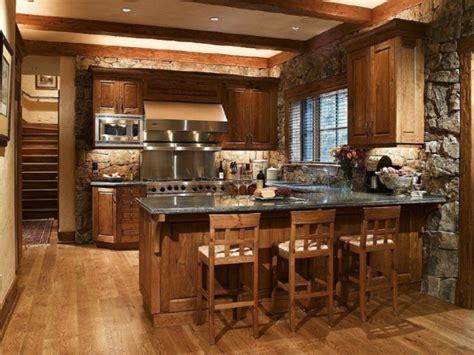 cuisine rustique et moderne des idées de cuisine rustique moderne bricobistro