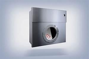 Radius Letterman 1 : briefkasten mit klingelschalter edelstahl radius design ~ Markanthonyermac.com Haus und Dekorationen
