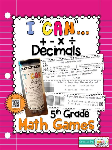 Interactive Decimal Games For 5th Grade  1000 Ideas About Dividing Decimals On Pinterest