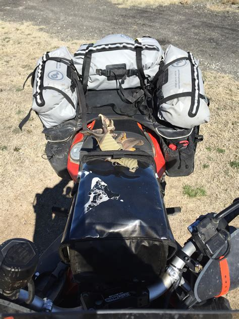 How To Pack Camping Gear For 2-up Motorcycle