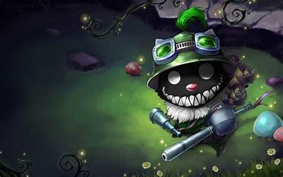 Teemo Insane Legends League Wallpapers Backgrounds Insanity