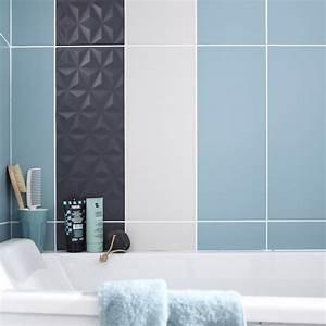 Salle De Bain Loft : fa ence mur bleu baltique n 3 loft x cm ~ Dailycaller-alerts.com Idées de Décoration