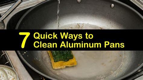 aluminum clean pans