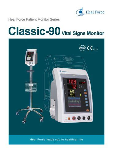 Classic-90 Vital Signs Monitor - Heal Force - PDF Catalogs