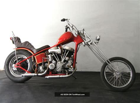 1948 Panhead Survivor Harley Chopper Vintage Rare Layaway