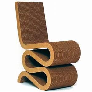 Meuble En Carton Design : notre s lection de meubles qui cartonnent la chaise en carton o 39 singulier d co ~ Melissatoandfro.com Idées de Décoration