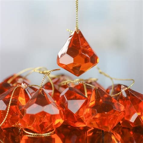 copper christmas copper acrylic diamond ornaments christmas ornaments christmas and winter holiday crafts
