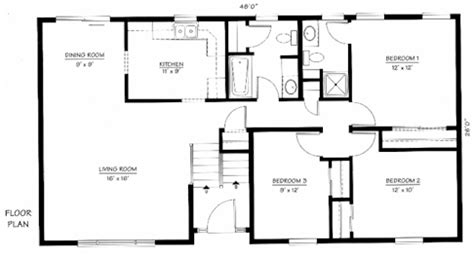 bi level house floor plans bi level home plan the norwood the modular home