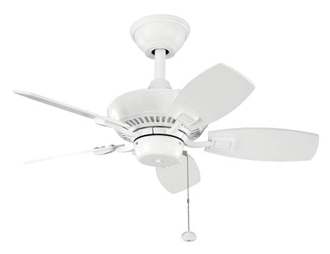 white ceiling fans without lights baby exit