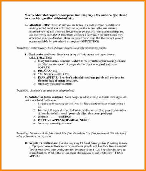 11 persuasive speech outline template cashier resume