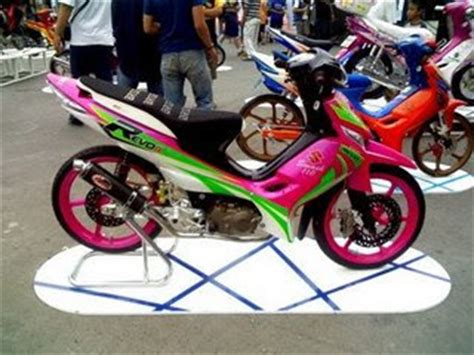 Modipikasi Motor R by Suzuki Shogun 125 Sp Modification Air Brush Foto Gambar