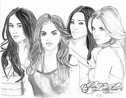 Pretty Liars Pages Kristina Mladenova Drawing Coloring