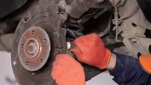 How To Replace Brake Cable On Mercedes