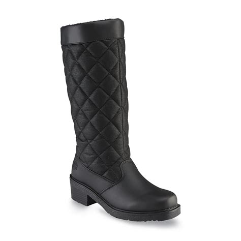totes womens patricia waterproof winterweather boot