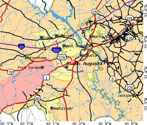 augusta richmond county georgia ga profile population