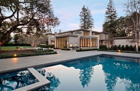 million contemporary home  atherton california