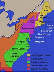 Best Ideas About Colonies Map Find What Youll Love - 13 colonies map new york city